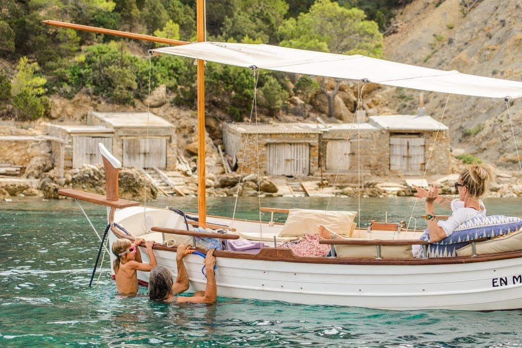 Self-drive boat for rent in Ibiza