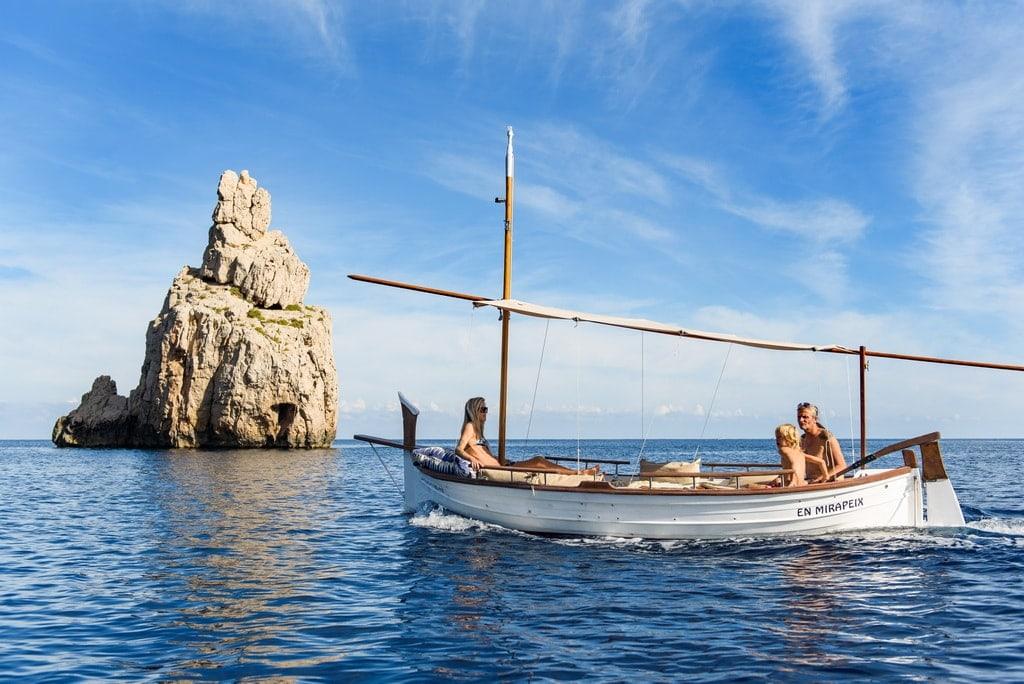 Boat rental no license needed Ibiza