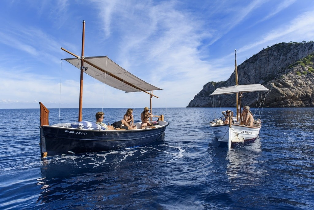 Guided boat tours Ibiza